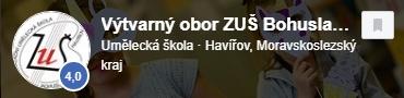 Facebook - Výtvarvný obor - ZUŠ Bohuslava Martinů