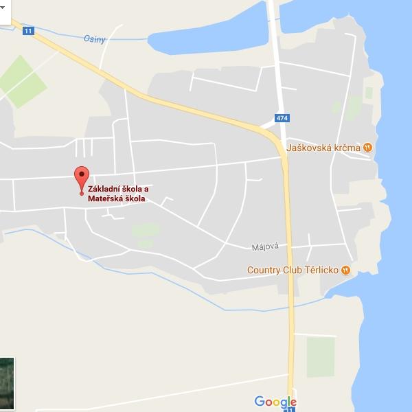 Mapy - ZŠ Těrlicko