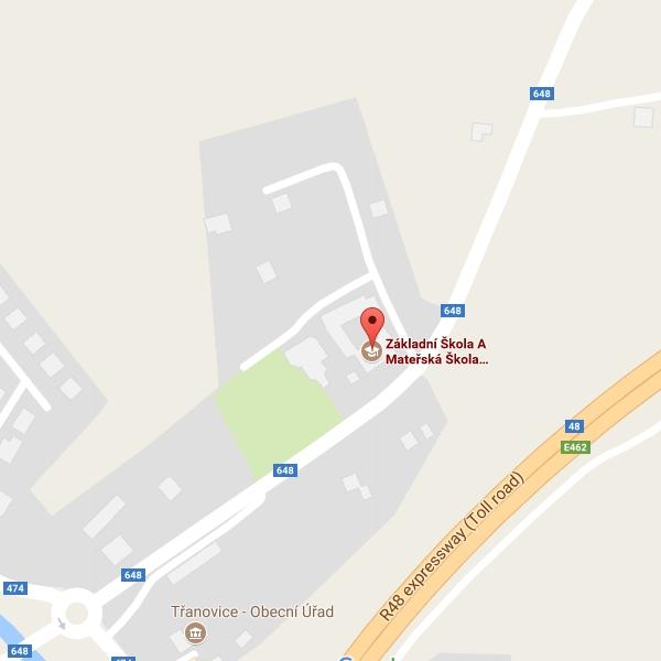 Mapy - ZŠ Třanovice